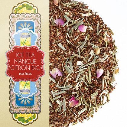 Ice tea mangue citron bio