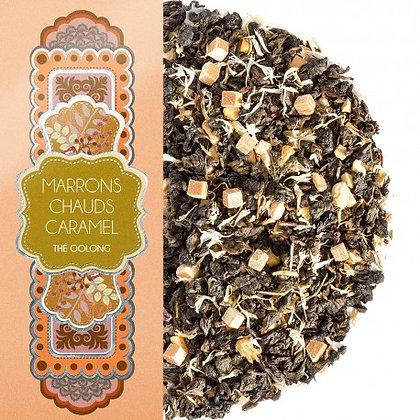 Marrons chauds caramel