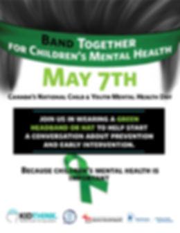 Band Together for Mental Health Poster 1