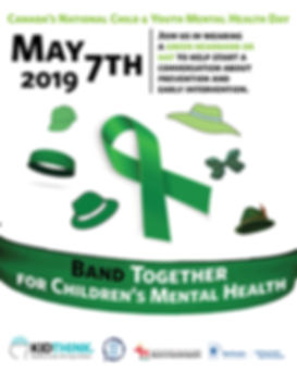 Band Together for Mental Health Poster 2