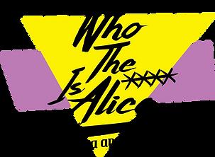Who the xxxx is Alice's logo