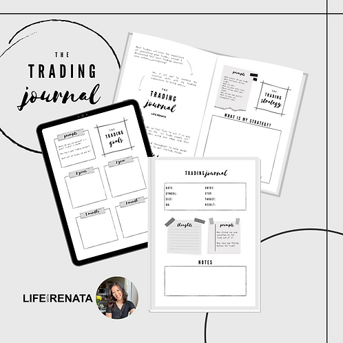 The Trading Journal - Digital Download
