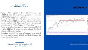Daily Oil Report - 03 September 2020
