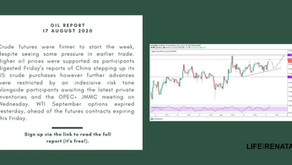 Daily Oil Report - 18 August 2020