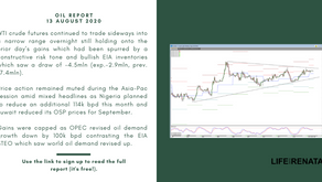 Daily Oil Report - 13 August 2020