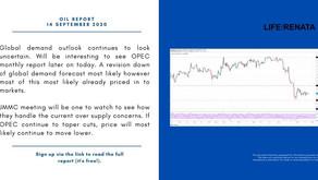 Daily Oil Report - 14 September 2020