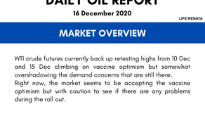 Daily Oil Report - 16 December 2020