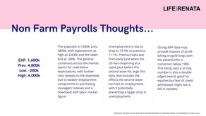 Non-Farm Payrolls Thoughts - July 2020