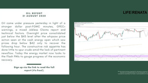 Daily Oil Report - 21 August 2020