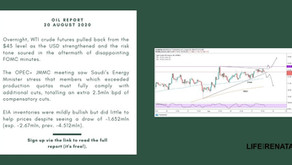 Daily Oil Report - 20 August 2020