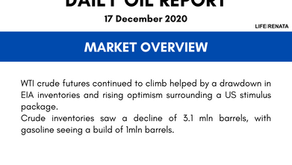 Daily Oil Report - 17 December 2020
