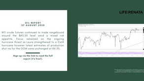 Daily Oil Report - 27 August 2020