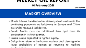 Weekly Oil Report - 01 February 2021
