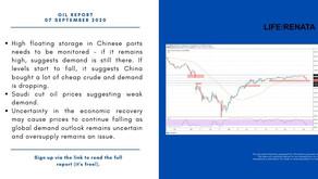 Daily Oil Report - 07 September 2020
