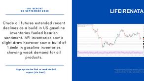 Daily Oil Report - 30 September 2020