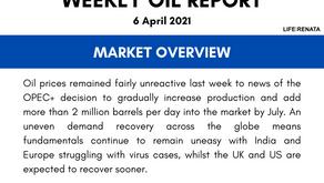 Weekly Oil Report - 06 April 2021