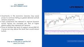 Daily Oil Report - 04 September 2020