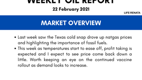 Weekly Oil Report - 22 February 2021