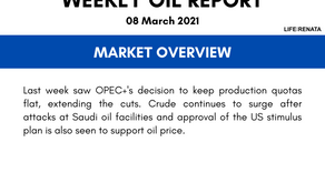 Weekly Oil Report - 08 March 2021