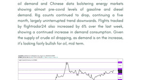 Daily Oil Report - 11 August 2020