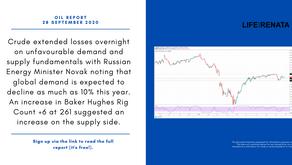 Daily Oil Report - 28 September 2020