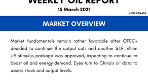 Weekly Oil Report - 15 March 2021
