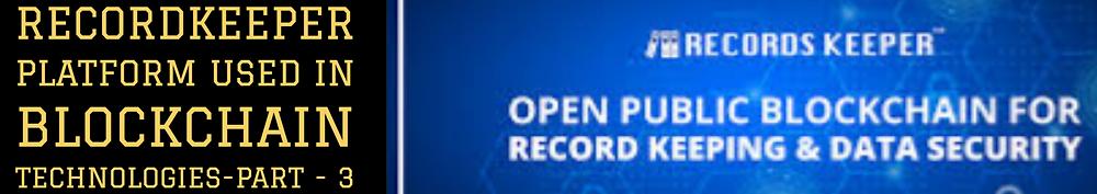 Recordkeeper - Blockchain Technologies