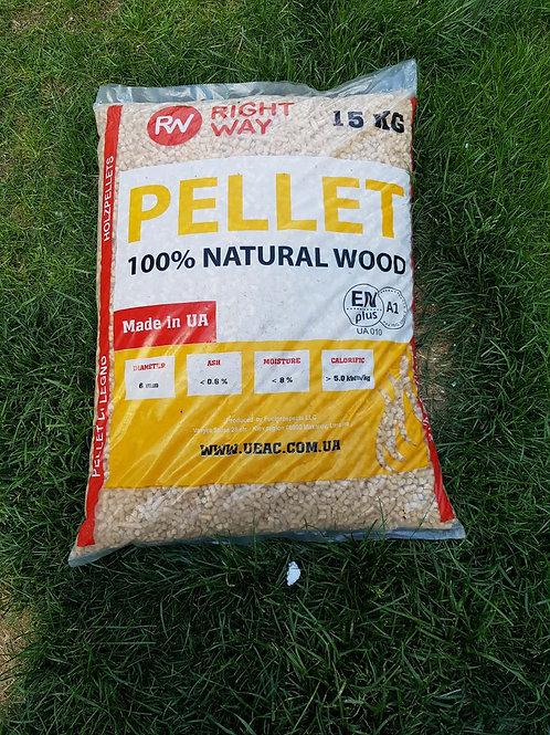 Pellet - RIGHT WAY EN PLUS A1 - 100% ABETE