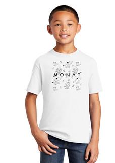 White kids monat shirt