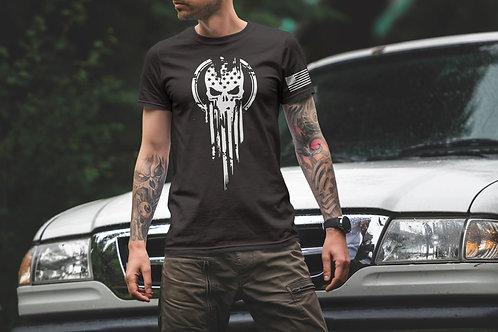 Military Punisher - Graphic T-Shirt