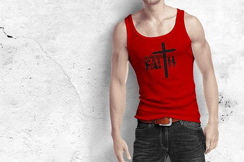 Aggressive Faith - Graphic unisex tank