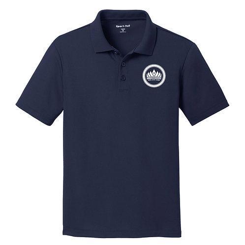 CBA Youth Polo - Navy