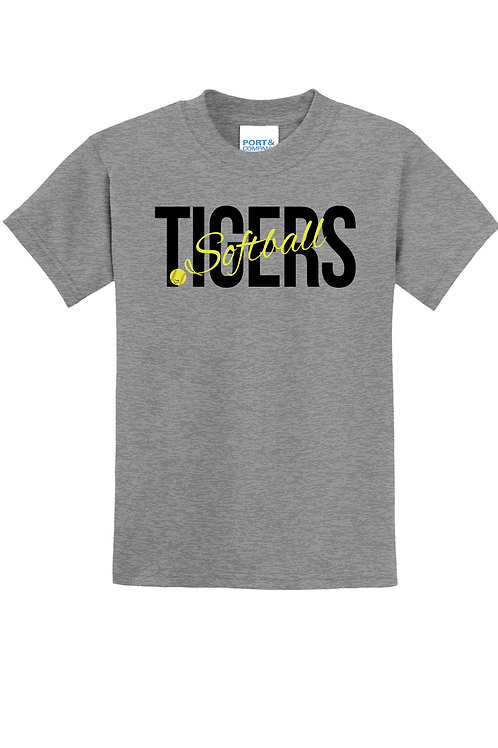 Tigers Softball - Youth Graphic t-shirt