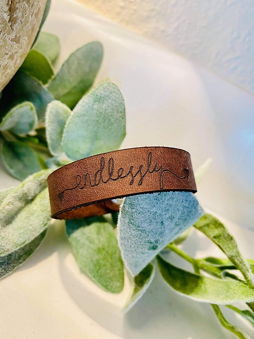 Leather Valentine's Day Band