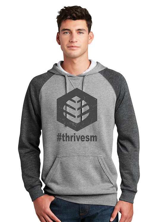 ThriveSM -  Lightweight Fleece Raglan Hoodie