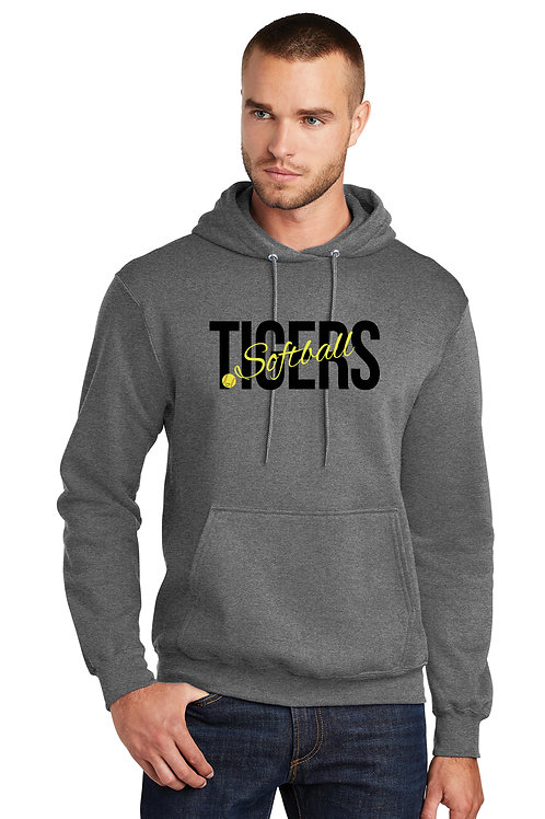 Tiger softball - Heavy weight Hoodie