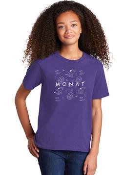 Purple kids monat shirt