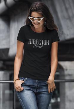 Director Mindset white Mockup