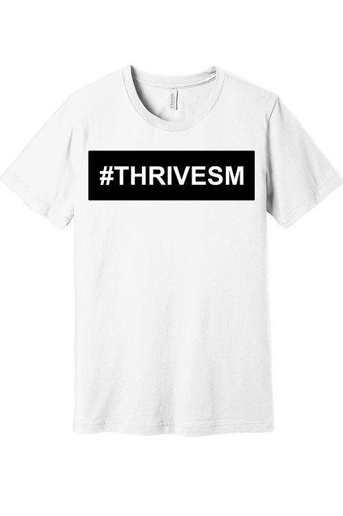 ThriveSM - White Short Sleeve