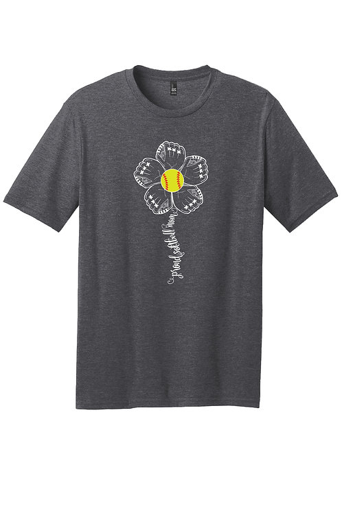 Proud Softball Mom - Bella Boo Graphic t-shirt