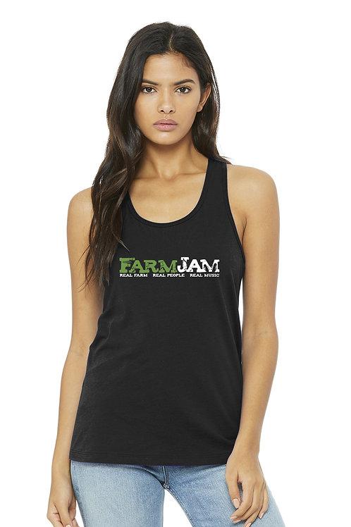 Racerback Tank - FarmJam (female)