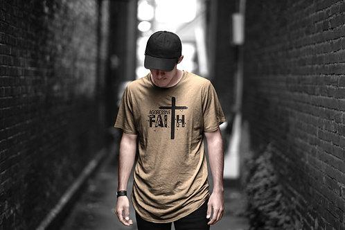 Aggressive Faith - Graphic t-shirt