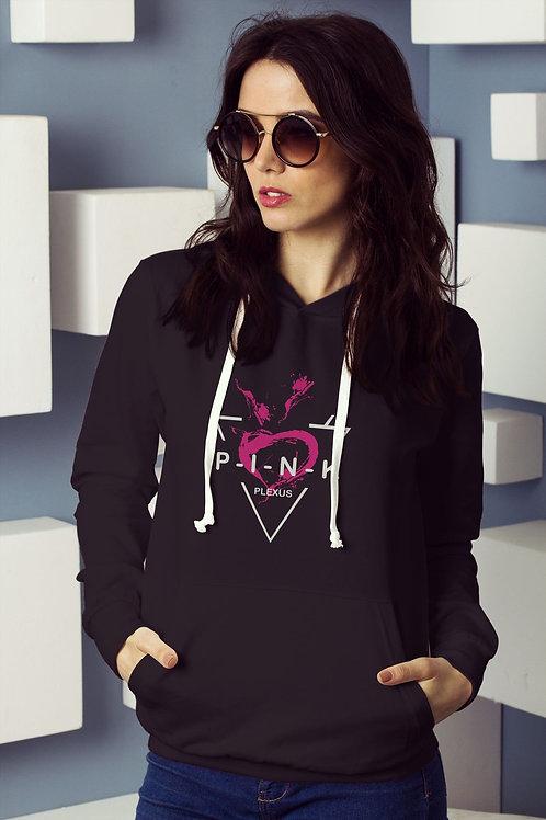 Pink Plexus Hoodie