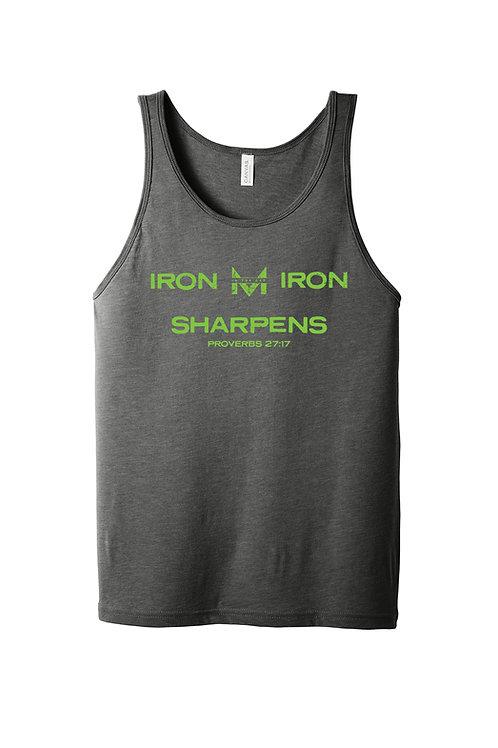 Men In Gap tank - Iron Sharpens Iron