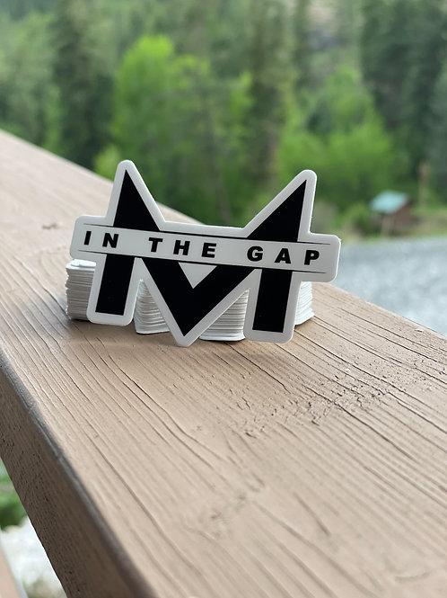 Men in the Gap Dye Cut Stickers