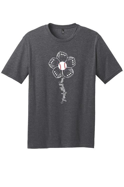 Proud Baseball Mom - Bella Boo Graphic t-shirt