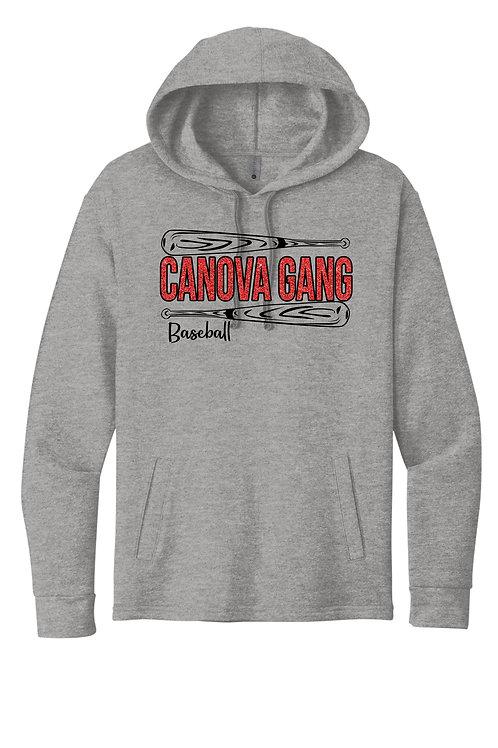 Canova Gang - Glitter Bat unisex Lightweight Graphic Hoodie