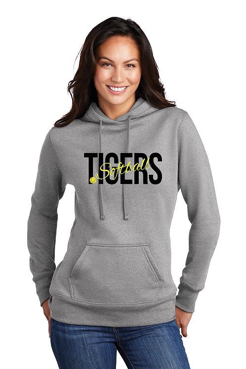 Tigers Softball - Ladies Lightweight Graphic Hoodie