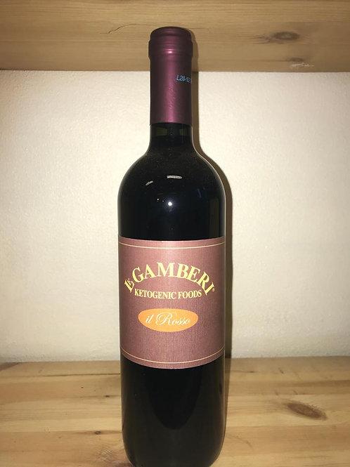 Le Gamberi Vino Rosso / Rode Wijn