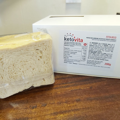 KETO VITA FETTA Bisco - Sweet Toast/Biscuit            1:2 ratio (100gr fills as